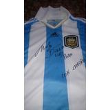 Camiseta Autografiada Firmada Maradona - Camisetas Blanco en Mercado ... 8e8e4a849f95e