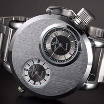 Lote De 2 Relojes V6 Original Militar Doble Reloj Agua 60 M