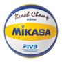 Pelota Beach Voley Vls 300 Cuero Ofic Mikasa Volley Vls300