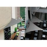 Comercio Restaurante Toldo Vela Sombra - Triangulo 3x4 Malla