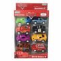 Pack 8 Autitos Cars Disney Coleccionables Ditoys Original