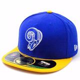 Boné New Era St Louis Rams Nfl Fechado Aba Reta Frete Free