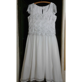 Vestido De Noiva Simples Plus Size