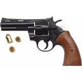 Revolver Fogueo 38 Largo Replica Sonido Real Full Metal