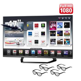 Smart Tv 3d Led Lg 47lm6400 Full Hd 120hz + Magic Remote