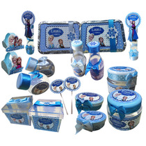Kit Lembrancinhas Personalizadas. 170 Itens. Frozen +bonitas