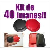 Kit De Imanes Para Biomagnetismo Forrados Diferentes Tamaños