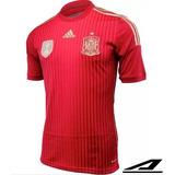 Camisa Espanha Oficial 1 S/n Frete Grátis Original