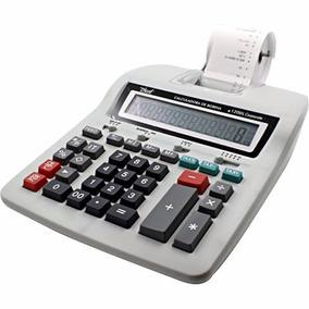 Calculadora De Mesa Compacta Com Bobina 12 Digitos Bivolt