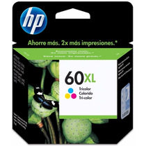Cartucho Tinta Hp 60 Xl Original Tricolor Oferta!!