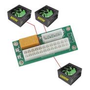 Add2psu Molex + Relay - Conectar 2 Fuente Minería Rig Sata E