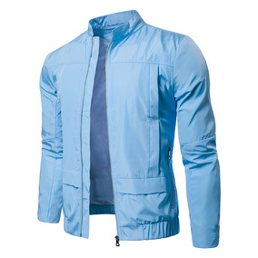 Chaqueta Impermeable Stand Collar Casual