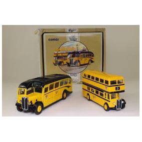 Corgi Bus Set X 2 96990 1/50 & 1/64