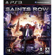 Saints Row Iv 4 Ps3 Jogo Novo Original Lacrado Mídia Física