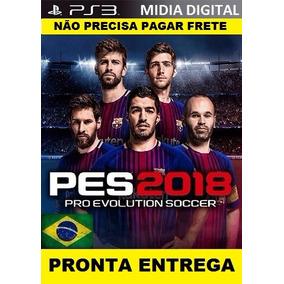 Pes2018 Ps3 Mídia Digital+patch Com Bayern De Munique