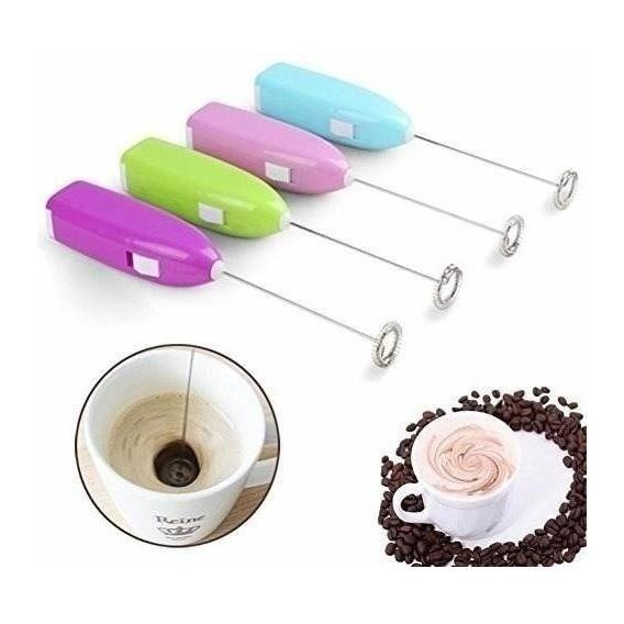 Batidor De Leche Espuma Para Café Cappucino Pila Crema