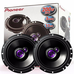 Kit Auto Falante Pioneer Triaxial 6+5 Polegadas 100w Rms Par