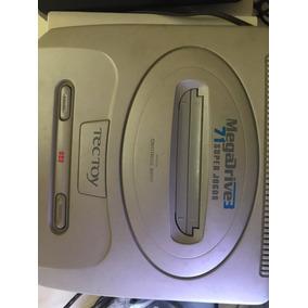 Mega Drive 3 Com 71 Jogos Na Memória + Entrada Para Cartucho