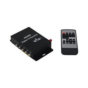 Receptor Qsicisl Coche Tv Digital Isdb-t Con La Antena Para