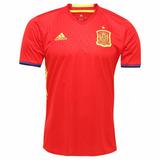 Camisa adidas Seleção Espanha Oficial Home 2016