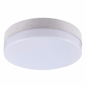 Luminária Plafon Redondo Led 18w Sobrepor Sensor De Presença
