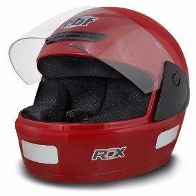 Capacete Ebf Rox - Vermelho
