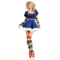 Secret Co Disfraz Rubie Deseos Del Costume Sexy Girl Rainbo