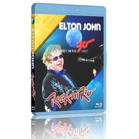 Bluray Elton John Live In Brasil - Frete Grátis!!!