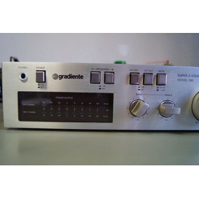 Amplificador Gradiente Model 166