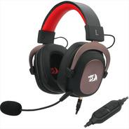 Diadema Gamer 7.1 Redragon H510 Zeus, Micrófono, Usb / 3.5mm