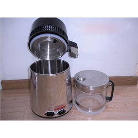 Máquina Eléctrica De Barril Para Destilar Agua 4l 1l/h