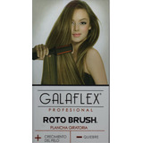 Plancha Para Cabello Giratoria Profesional Galaflex Rotobrus