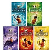 Saga Completa Percy Jackson (5 Libros) - Rick Riordan