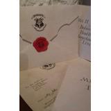 Harry Potter Carta Hogwarts - Combo Harry Ron Hermione