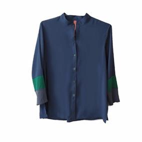 Camisa Cuello Mao, Vanesa Lamura