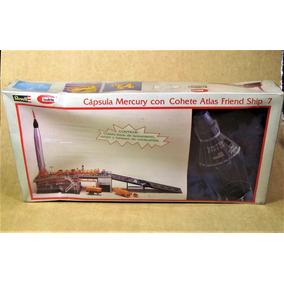 Cápsula Mercury Con Cohete Atlas Friend Ship 7 Lodela Revell
