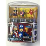 Heroclix Marvel Tabapp: Thor, Capitão América Homen De Ferro