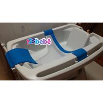 Rede Proteção Banheira Banho Segurança Bebê Nenem Bibi Tchan