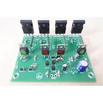 Kit 2 Placas Amplificador Classe Ab 250w Rms P/canal +brinde
