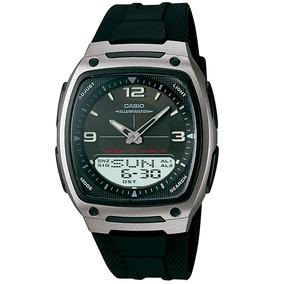 Relógio Masculino Casio Anadigi Aw-81-1a1vdf