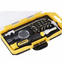 Kit De 33 Herramientas Para Reparar Celulares, Laptops