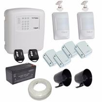 Alarme Segurança Residencial Comercial Central Discadora Ecp