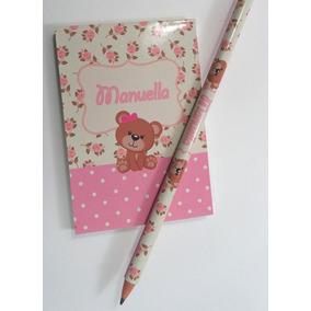 15 Bloquinhos + 15 Lápis Personalizados- Lembrancinhas!!!