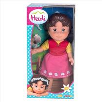 Heidi Muñeca De La Clasica Caricatura Heidi Rosquillo Toys