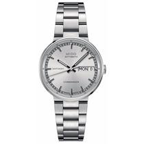 Reloj Mido Commander 2 Automático Plateado Dama M01423011031