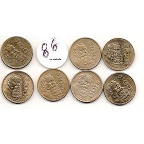 Colección De Monedas Mexicanas $ 100 1985 Al 1992 Bonitas