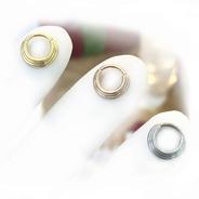Clicker Triple Argollita Titanio Premium 8mm -
