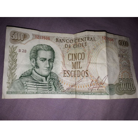 Vendo Billete De 5000 Escudo Brasilero