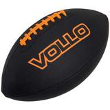 Bola Futebol Americano Vollo Pvc Preta - Original+ Nf