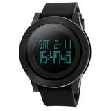 Mi-watch Reloj Digital Negro Impermeable Deportivo Reloj De